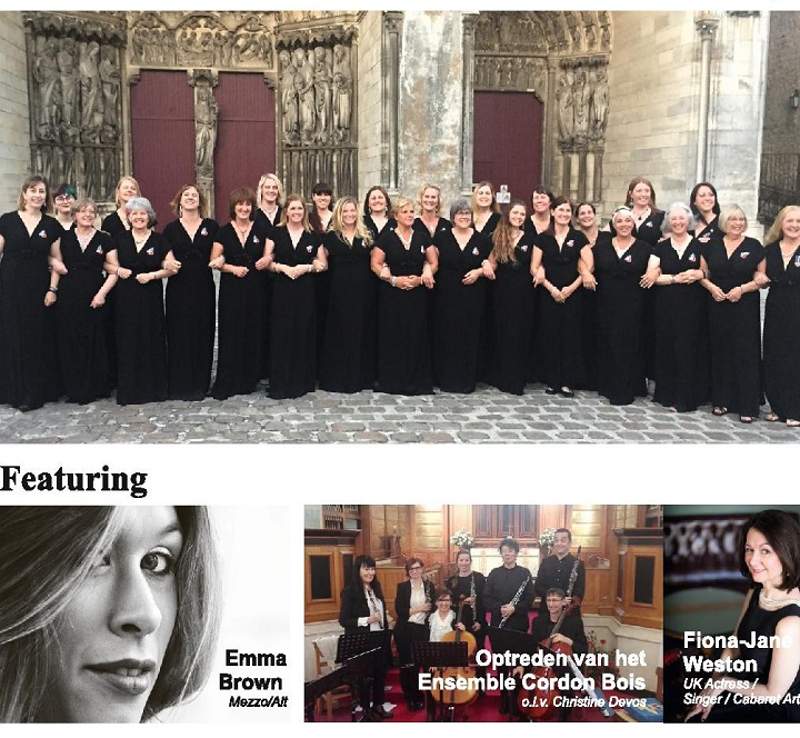 Chivenor Military Wives Choir, Ypres, Belgium
